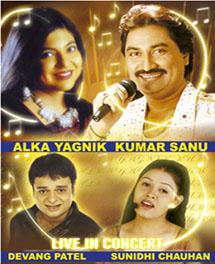Alka Yagnik & Kumar Sanu